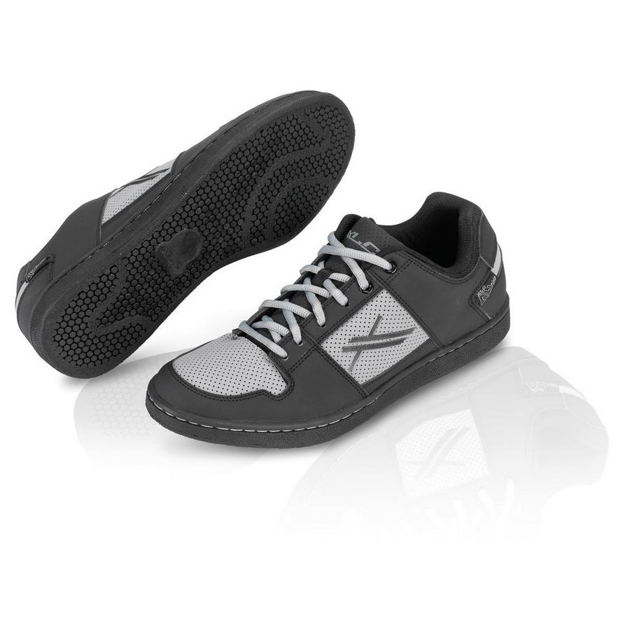 MTB Flat Shoes All Ride CB-A01 Black/Grey Size 38