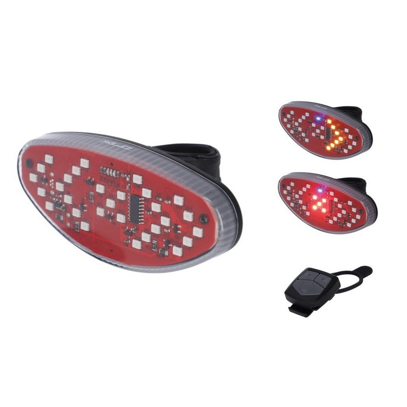 Flashing Rear Light CL-E15 with Turning Signals