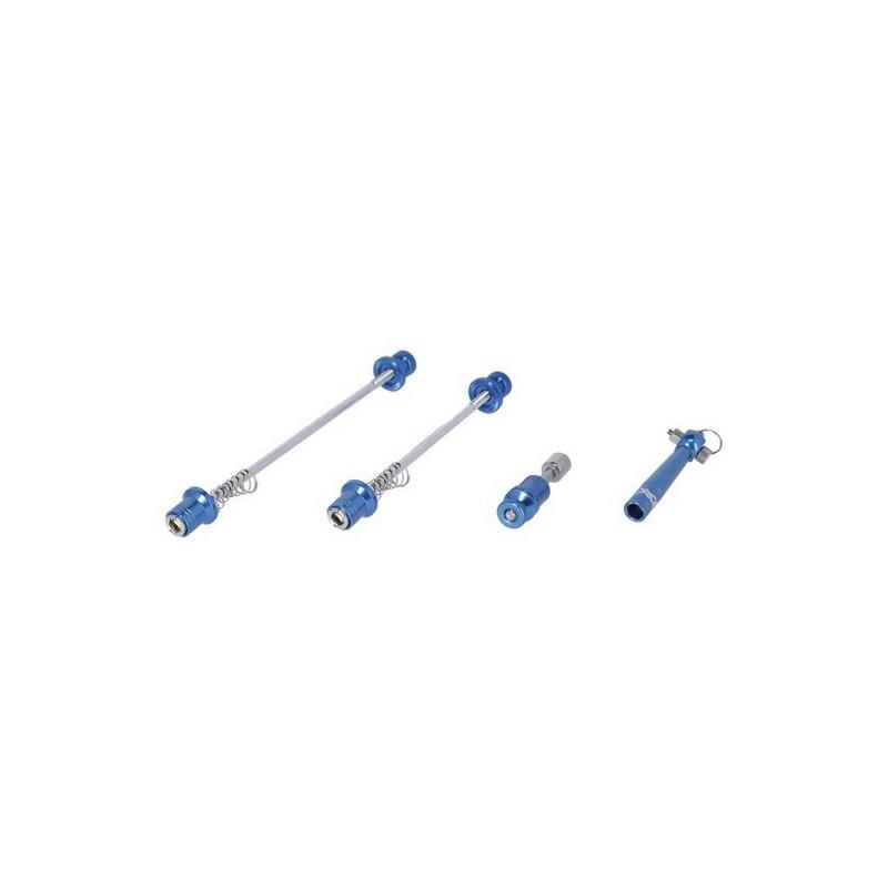Kit Sgancio Rapido Anteriore/Posteriore QR-L08 Antifurto Blu