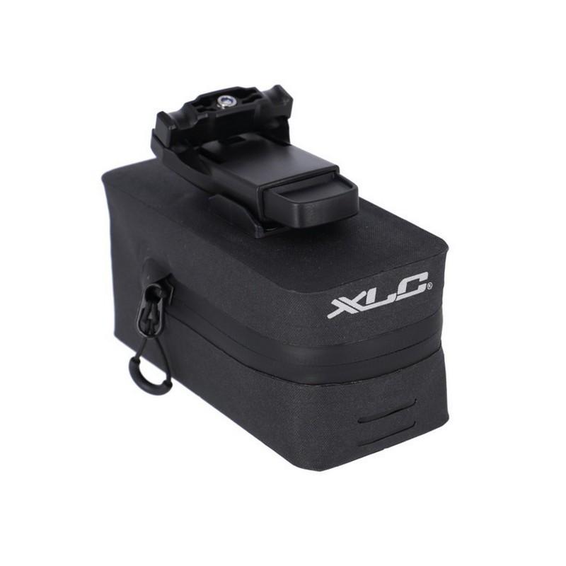 Saddle Bag BA-S110 Fidlock Push Black