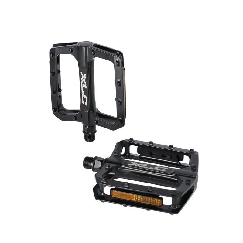 Coppia Pedali Flat PD-M29 Alluminio Nero