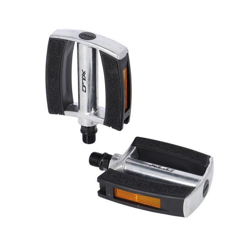City Comfort Pedal PD-C21 Silver/Black