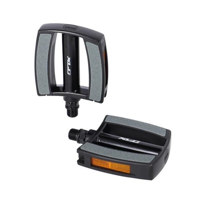 Coppia Pedali City Comfort PD-C21 Nero/Grigio