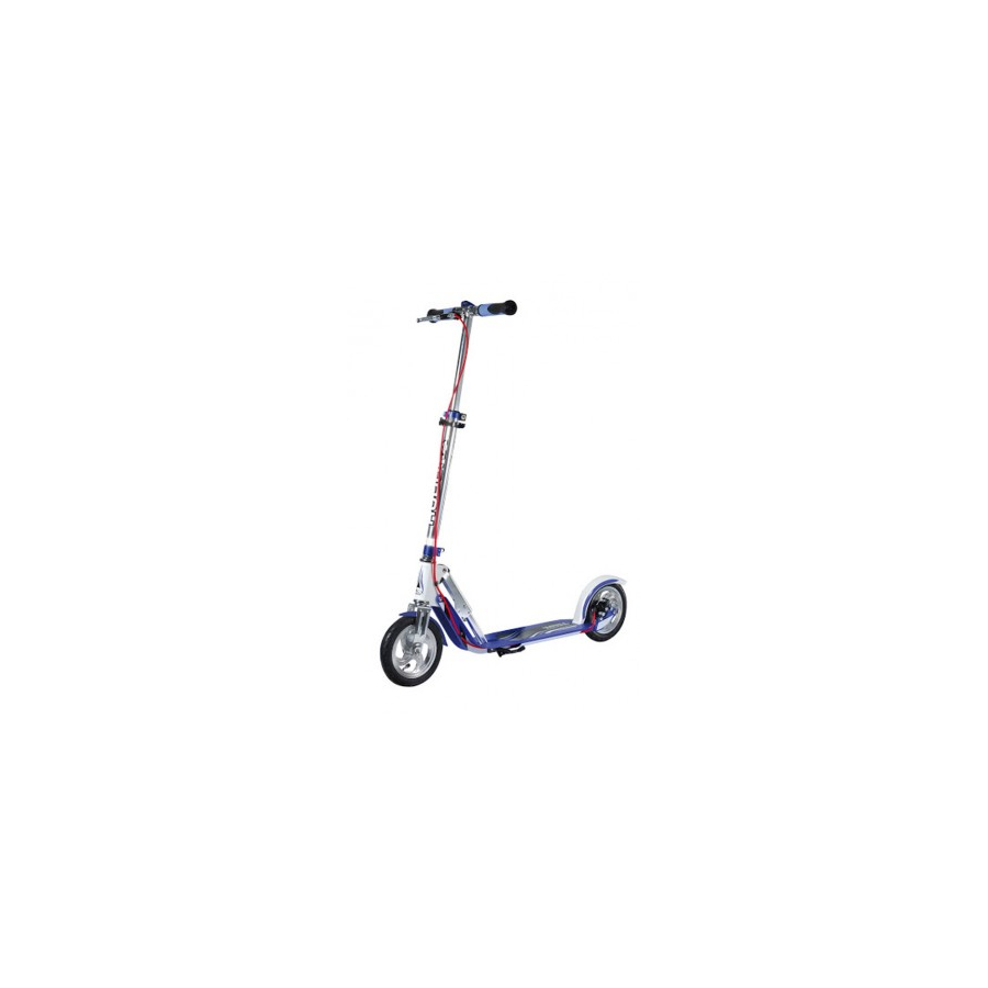 City scooter big wheel air alluminio 8'' 205 bianco/blu 205mm Sport
