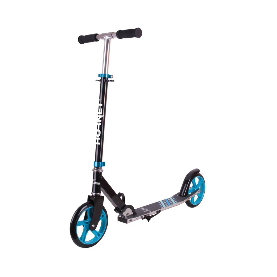 City scooter hornet 8'' black / blue Sport