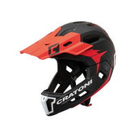 full face helmet detachable chin c-maniac 2.0 mx size s/m (52-56cm) red red