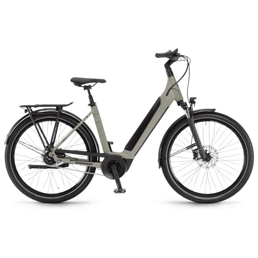 Sinus Man 27.5'' 5s 500Wh Bosch Performance Line Green 2022 Size 46