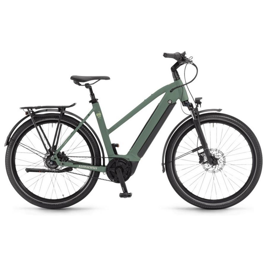 Sinus Donna 27.5'' 8v 500Wh Bosch Active Plus Verde 2022 Taglia 44