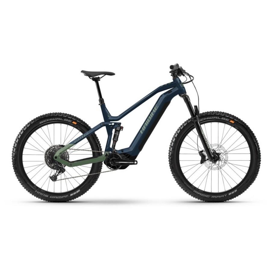 AllTrail Man 27.5'' 140mm 12s 750Wh Yamaha PW-X3 Blue 2022 Size 41