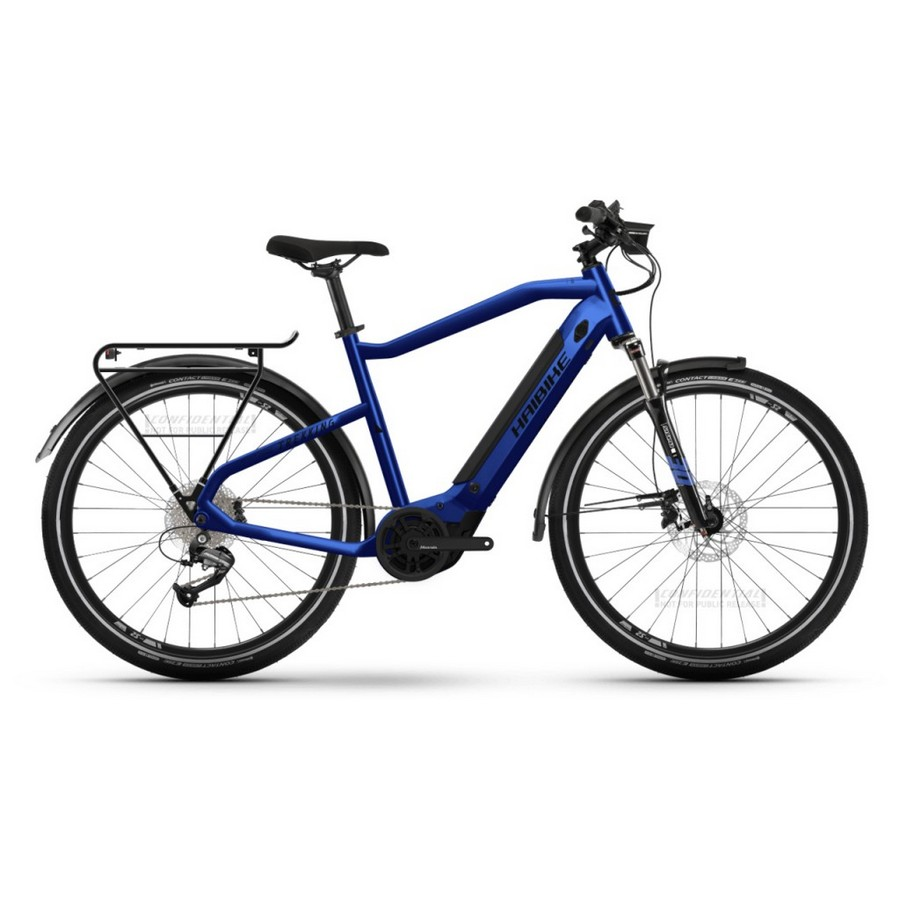 Trekking Man 27.5'' 9s 500Wh Yamaha PW-TE Blue 2022 Size 48