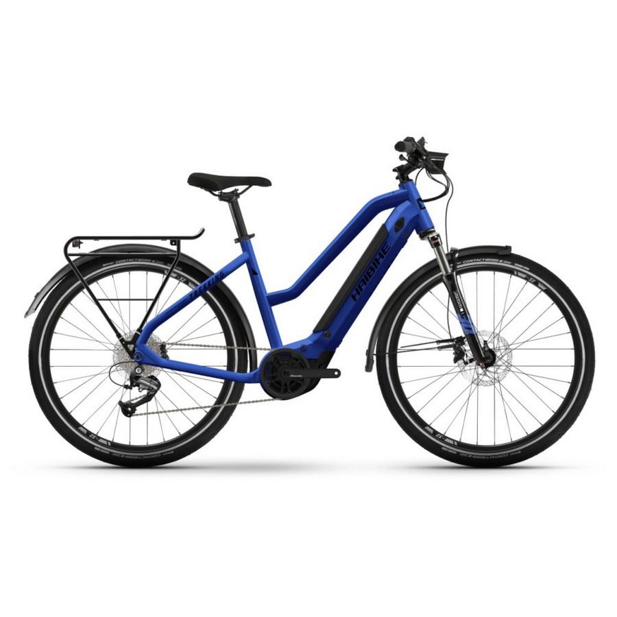 Trekking Man 27.5'' 9s 500Wh Yamaha PW-TE Blue 2022 Size 44