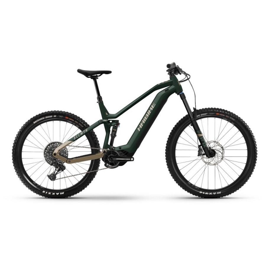 AllMtn Man 27.5'' 160mm 12s 750Wh Yamaha PW-X3 Green 2022 Size 41
