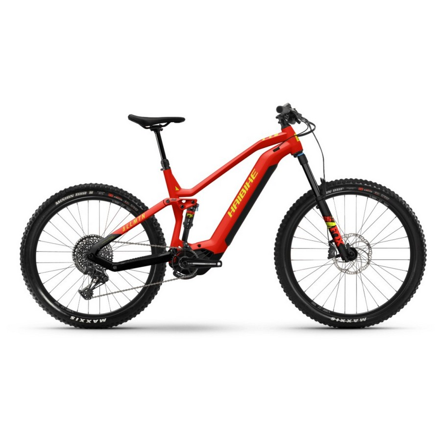 AllMtn Man 27.5'' 160mm 12s 750Wh Yamaha PW-X3 Red 2022 Size 41