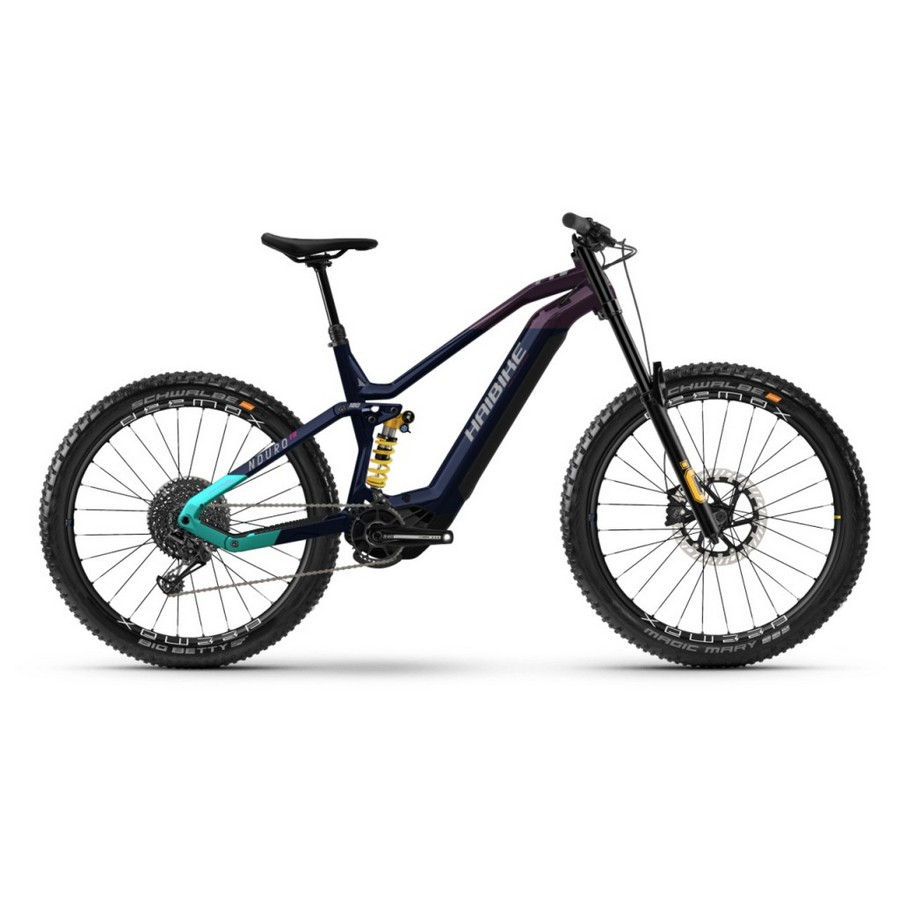 Nduro Uomo 27.5'' 180mm 12v 750Wh Yamaha PW-X3 Blu 2022 Taglia 41