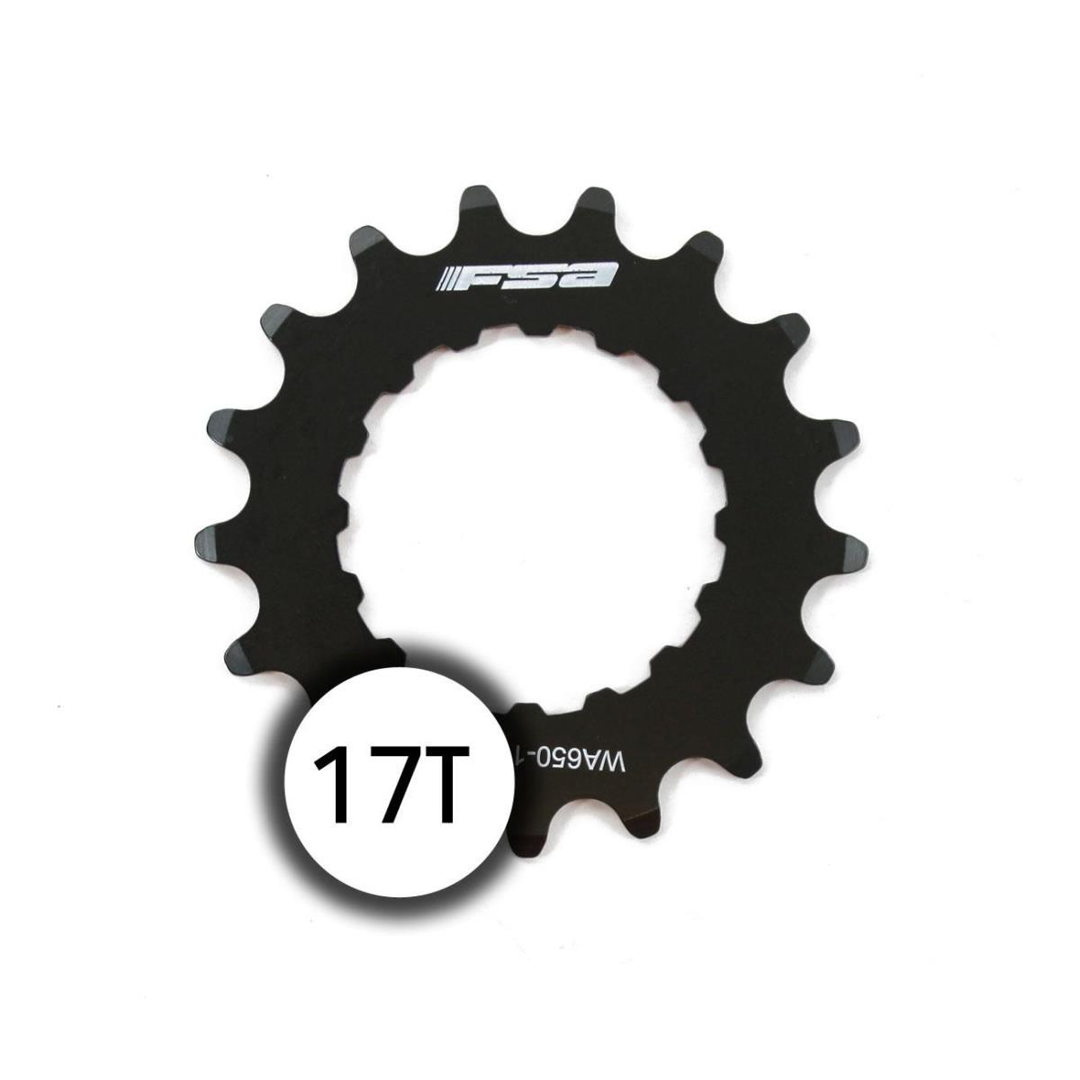sprocket 17t bosch ebike chainring wa650 stainless steel black