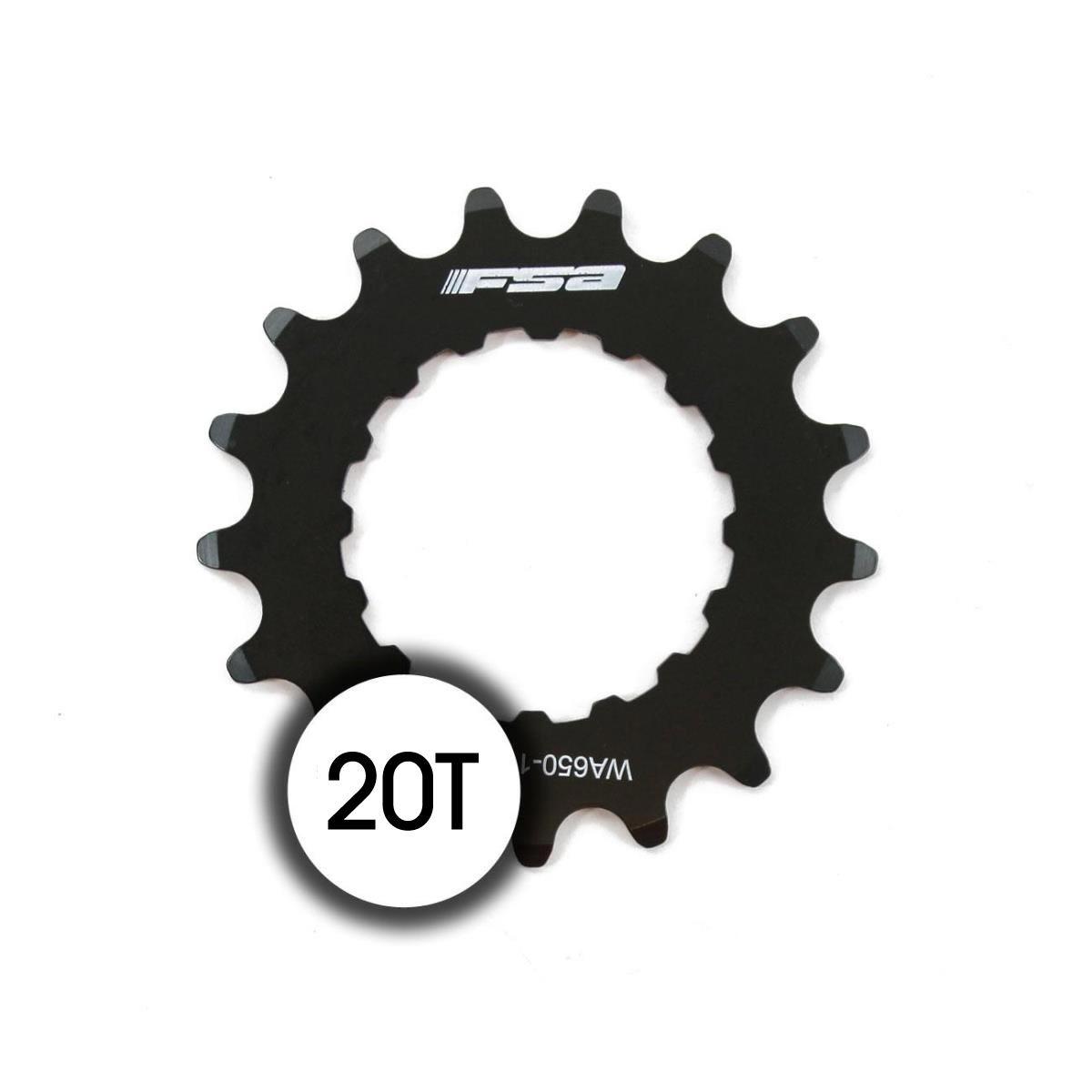 sprocket 20t bosch ebike chainring wa653 stainless steel black