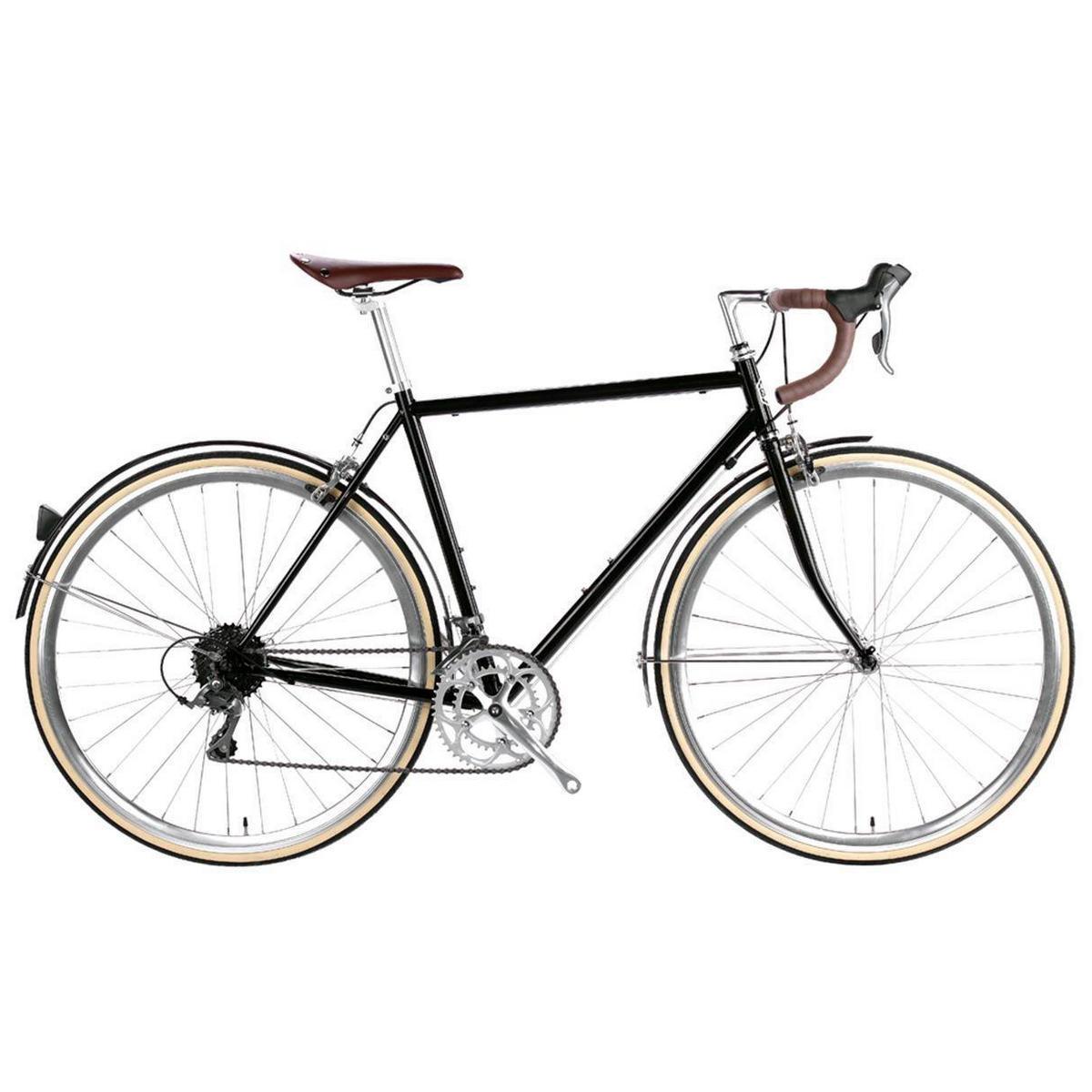 Bicicletta city TROY 16v nero Del Rey medium 54cm