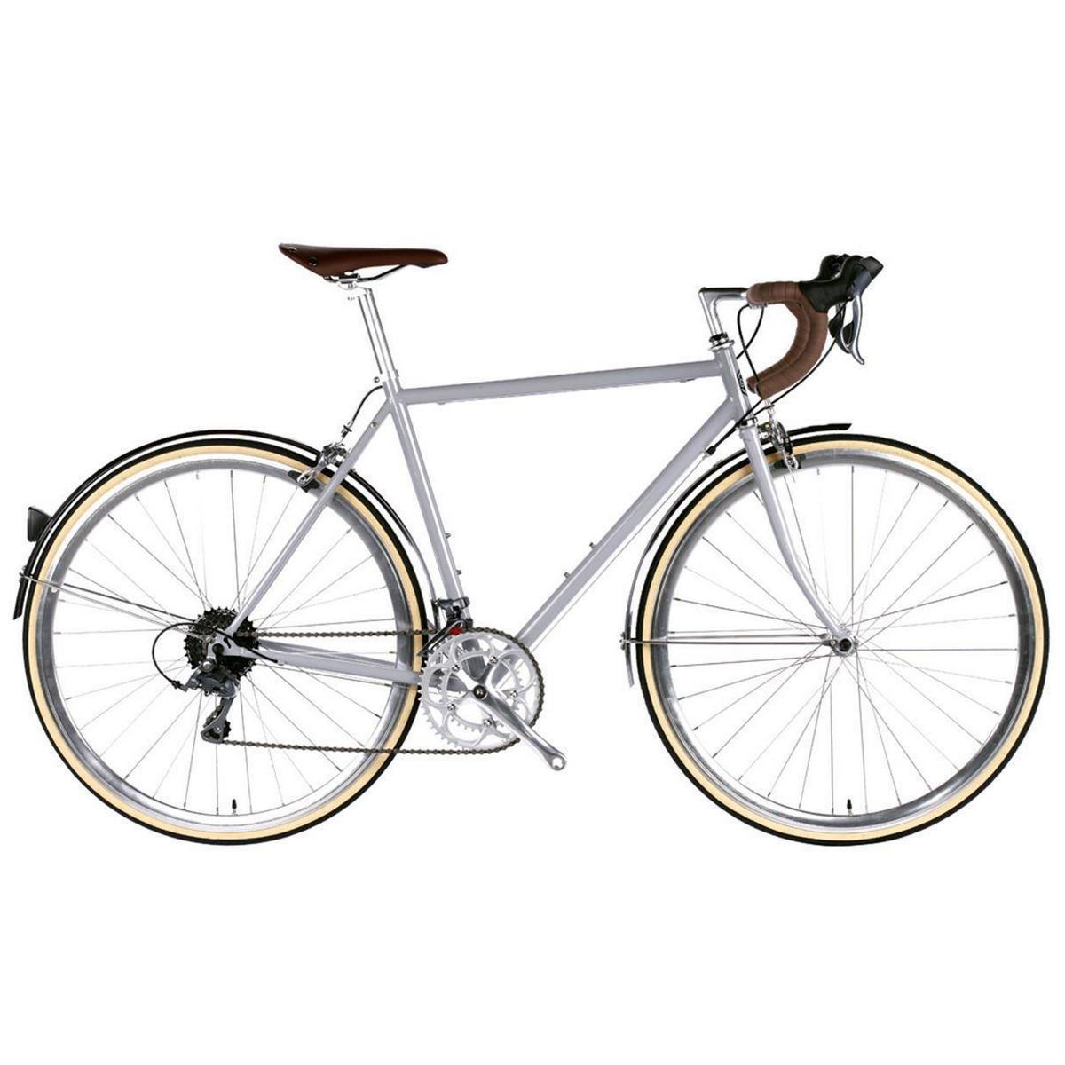 Bicicletta city TROY 16v silver Highland large 58cm