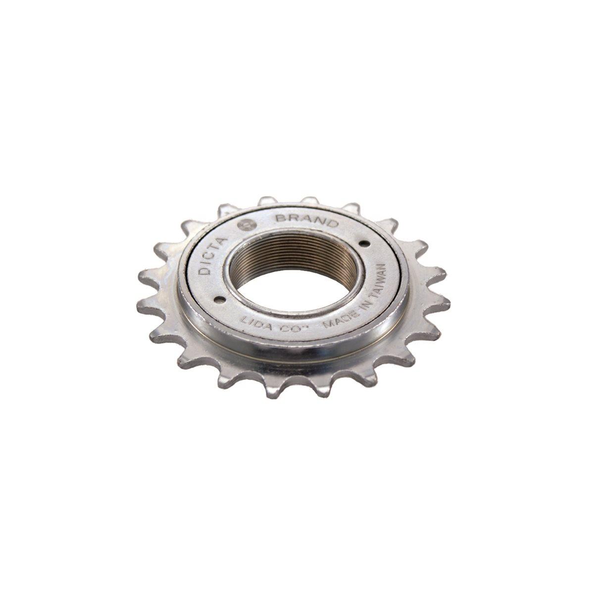 Freewheel 18T 1/2'' x 1/8'' chrome finish