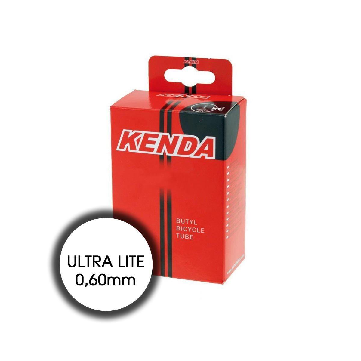 Camera d'Aria 700x18-23 Ultra Lite Valvola Presta 48mm Scatolata peso 68gr