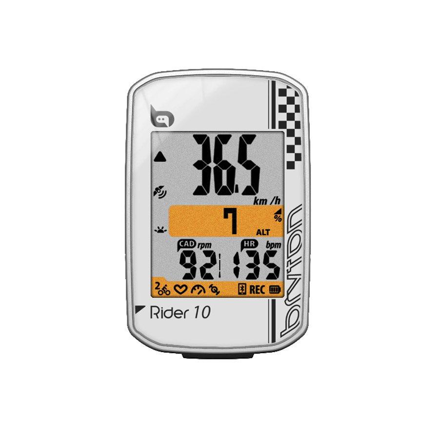 GPS bike computer Rider 10E 2018 white