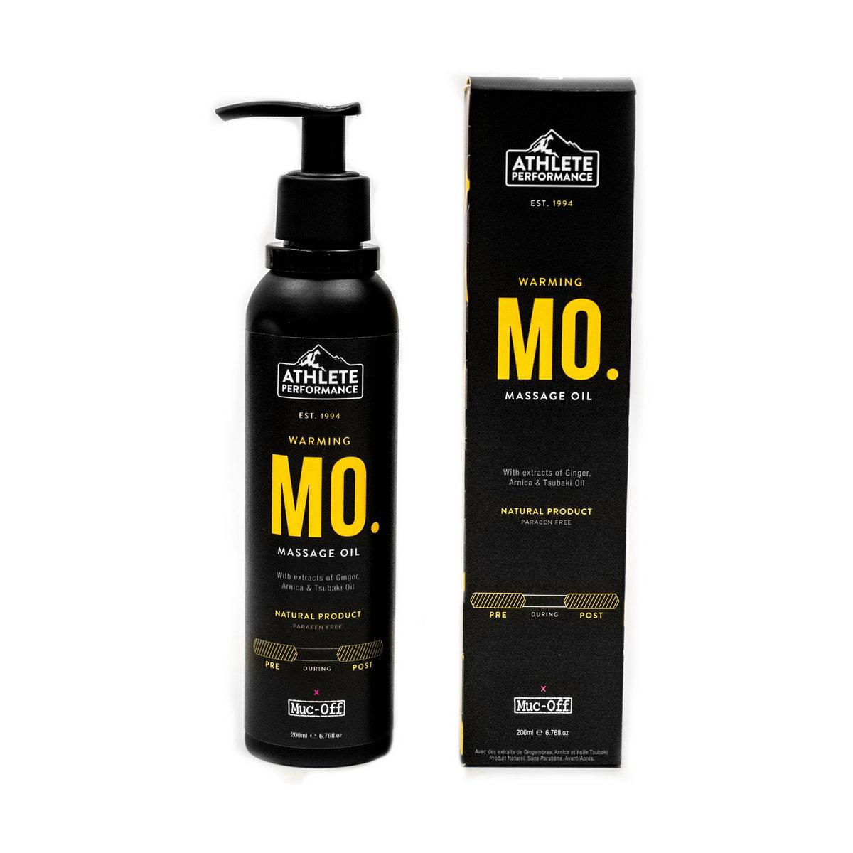 Olio Warming Massage Oil post allenamento