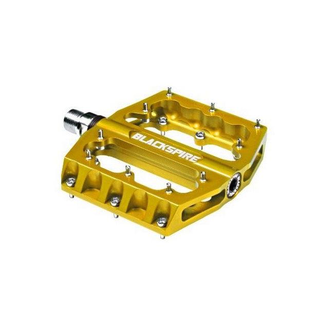 Coppia Pedali Sub420 oro in alluminio