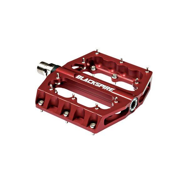 Coppia Pedali Sub420 rosso in alluminio