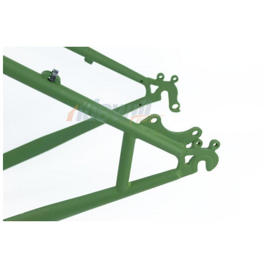 kit telaio forcella cr-mo fat bike verde militare opaco RMS Fat Bike