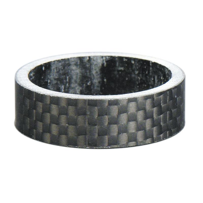 spessore serie sterzo 1-1/8'' carbonio 10 mm nero