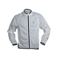 windproof long sleeve jacket size s white