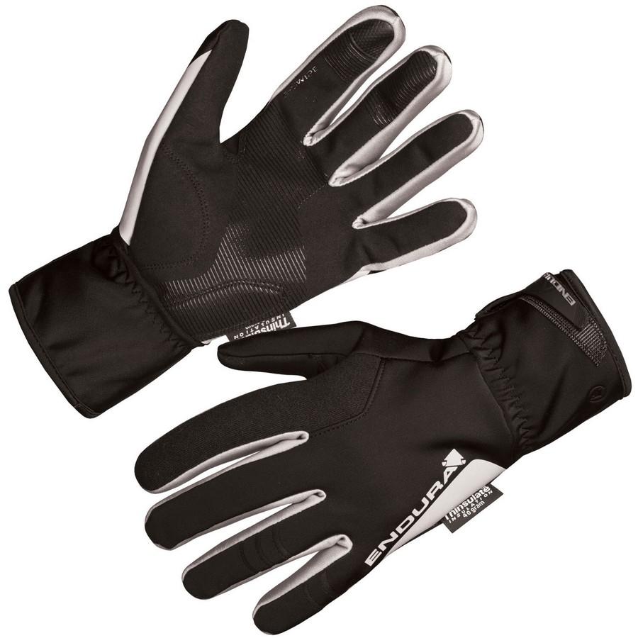 Deluge II Waterproof Winter Gloves Black Size XS