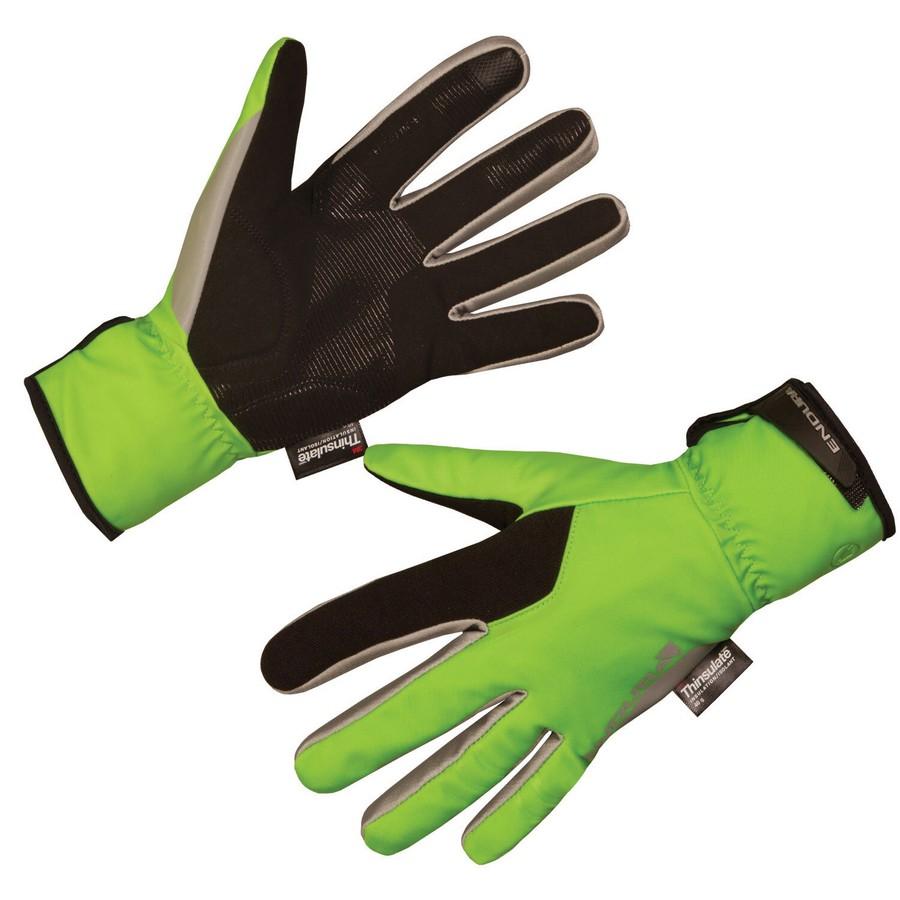 Deluge II Waterproof Winter Gloves Green Size XS