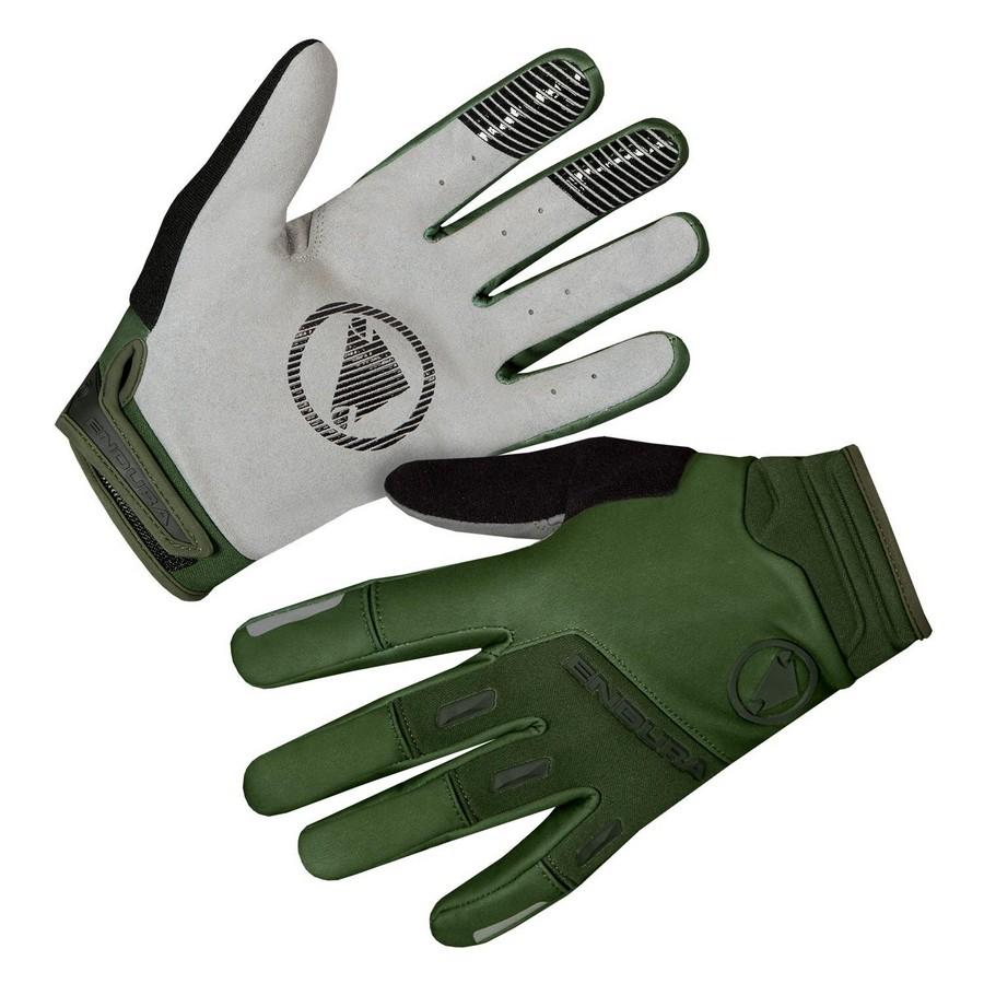 SingleTrack Windproof Winter Mtb Gloves Size S