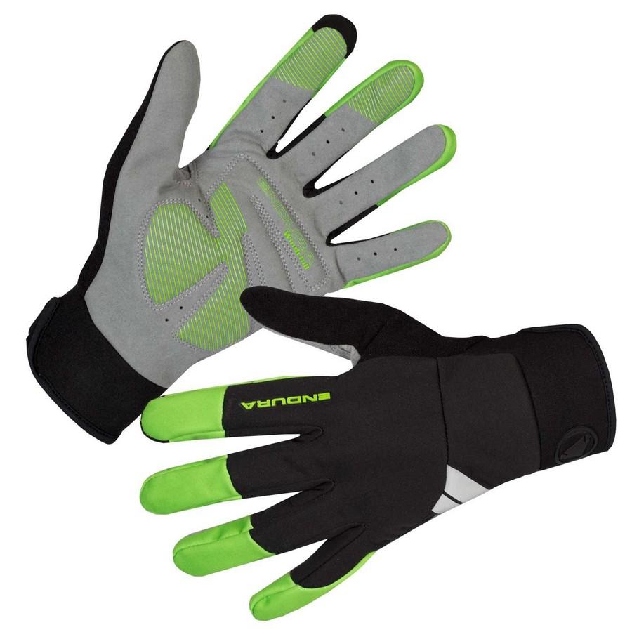 Windchill Windproof Winter Gloves Green Size XS