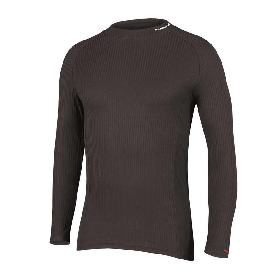 Transrib Long Sleeves Winter Baselayer Black Size S