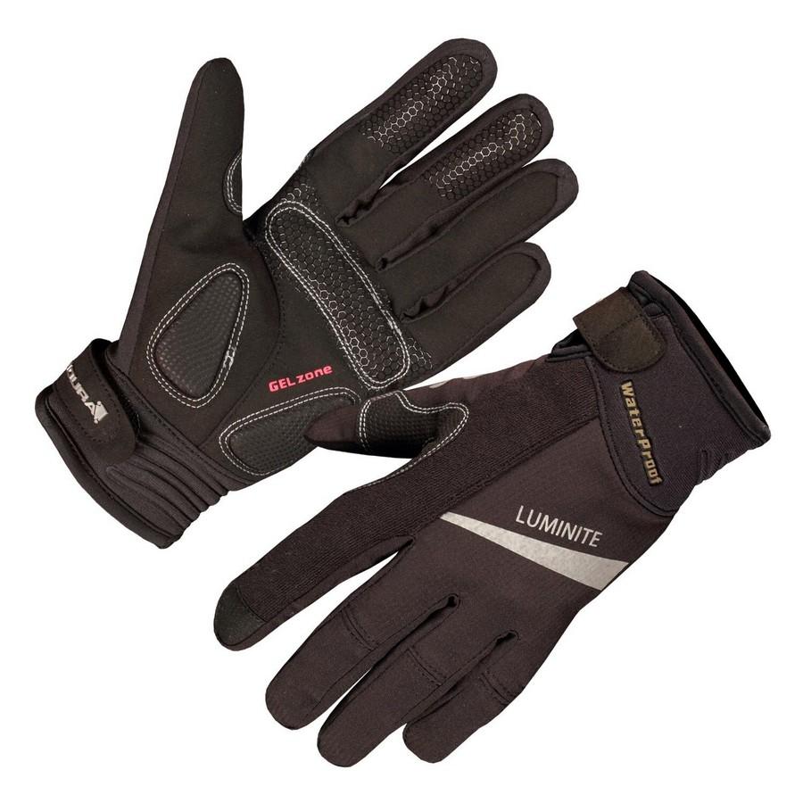 Luminite Waterproof Gloves Woman Black Size XS