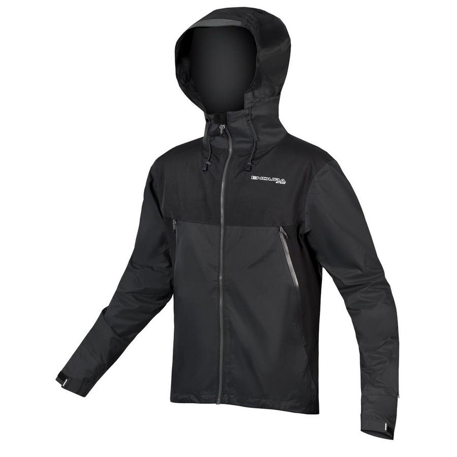 MT500 Waterproof Mtb Jacket Black Size XS