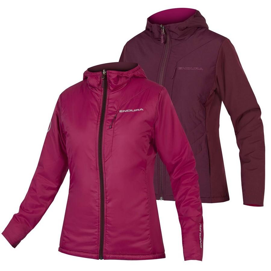 Reversible Urban Jacket PrimaLoft FlipJak II Woman Bordeaux Size XXS