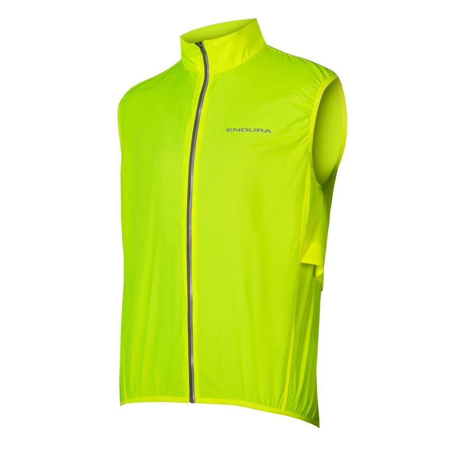 Lightweight Windproof Vest Pakagilet Yellow Size M