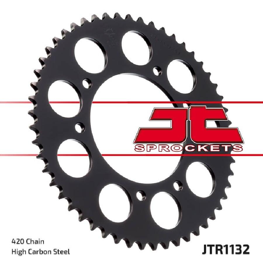 Rear sprocket JTR1132.53 - teeth 53 Derbi Senda R DRD Racing 50 06 - 12