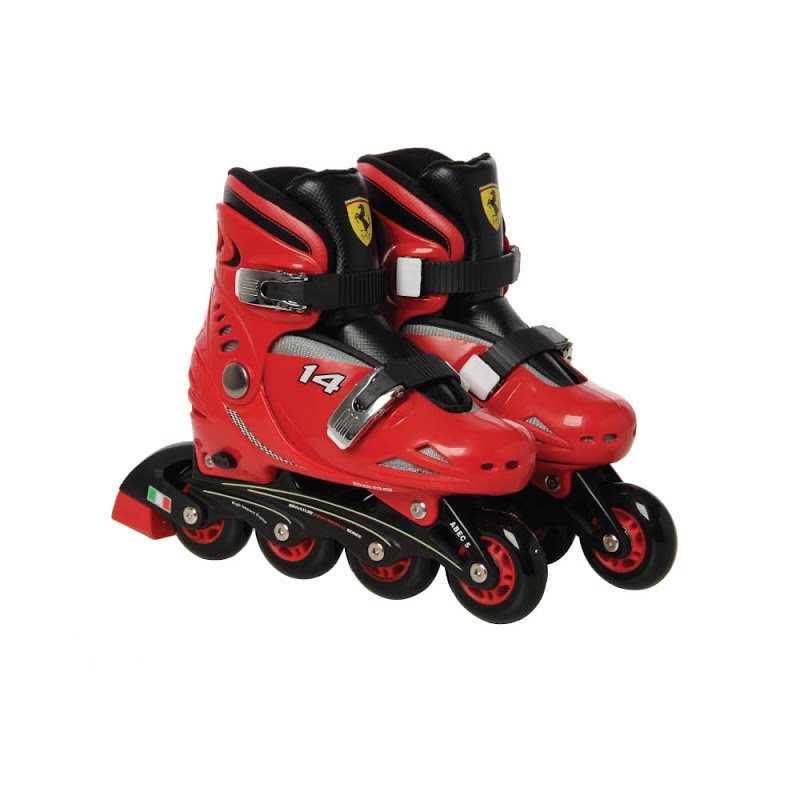 Roller skates Ferrari red Abec5 size 29-32
