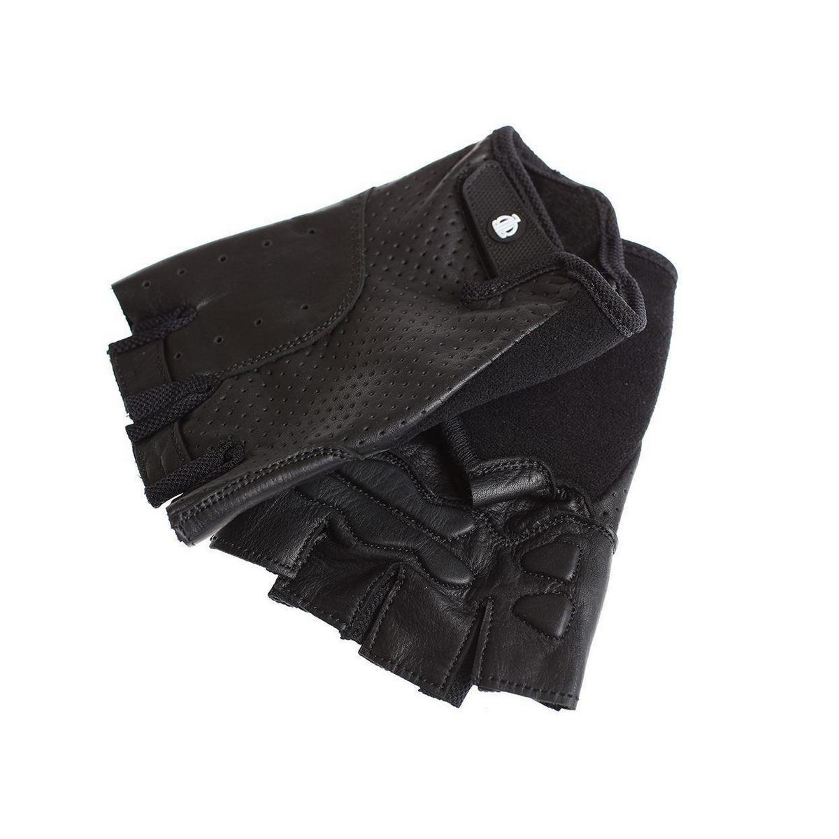 guanti classic sport pelle taglia l nero