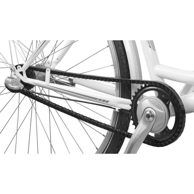 chain guard clip-on 120 links city fixed plastic black