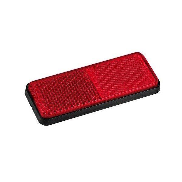 Catarifrangente adesivo posteriore rosso