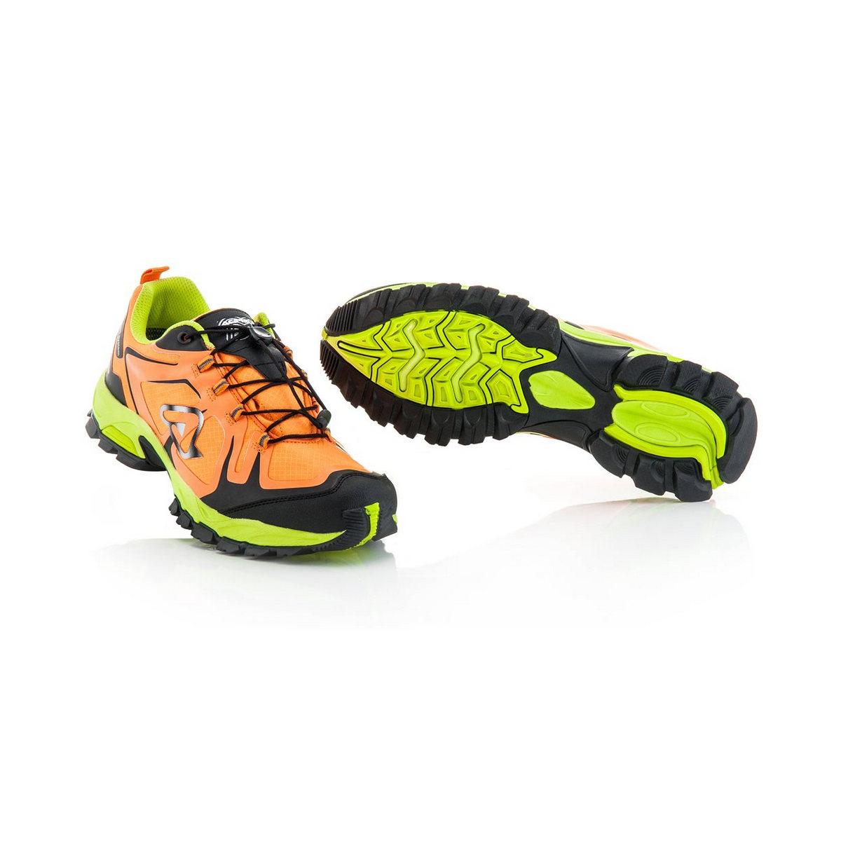 shoes trail wr orange/black size 45
