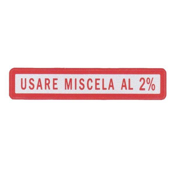 Label pkg miscela 2% small size
