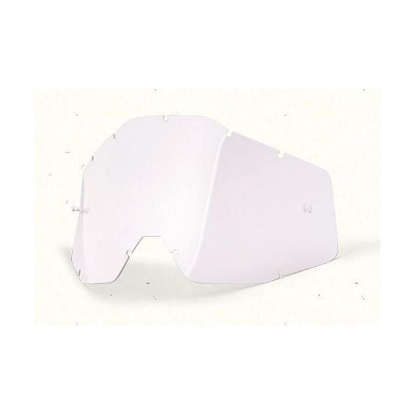 Clear replacement clear lens for Racecraft / Accuri / strata models Bike