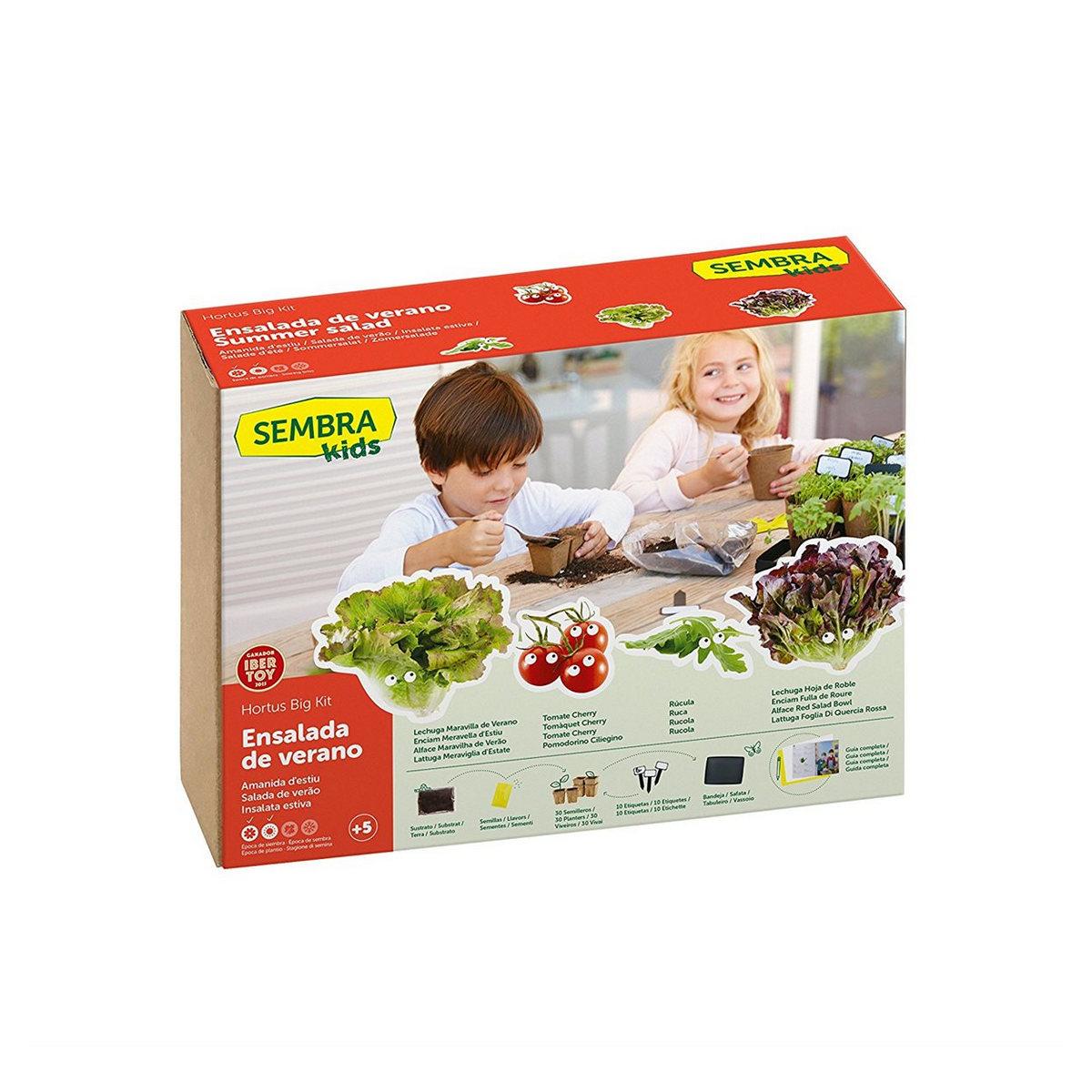Kit orto insalata  per bambini