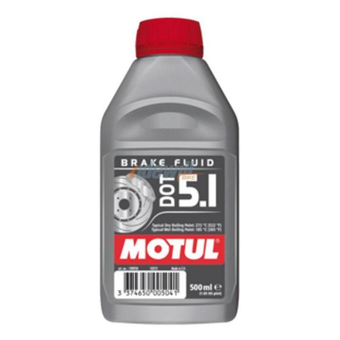Dot 5.1 brake fluid bottle 500ml 100% synthetic
